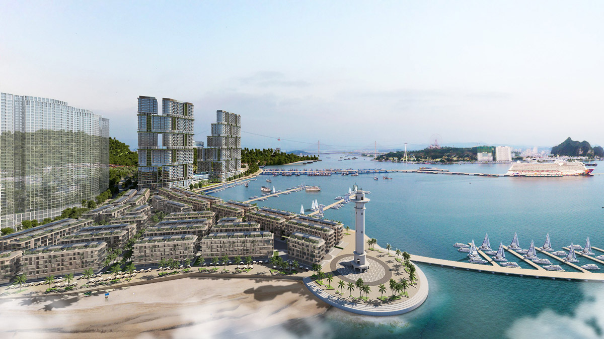 Phối cảnh dự án Sun Grand City Marina