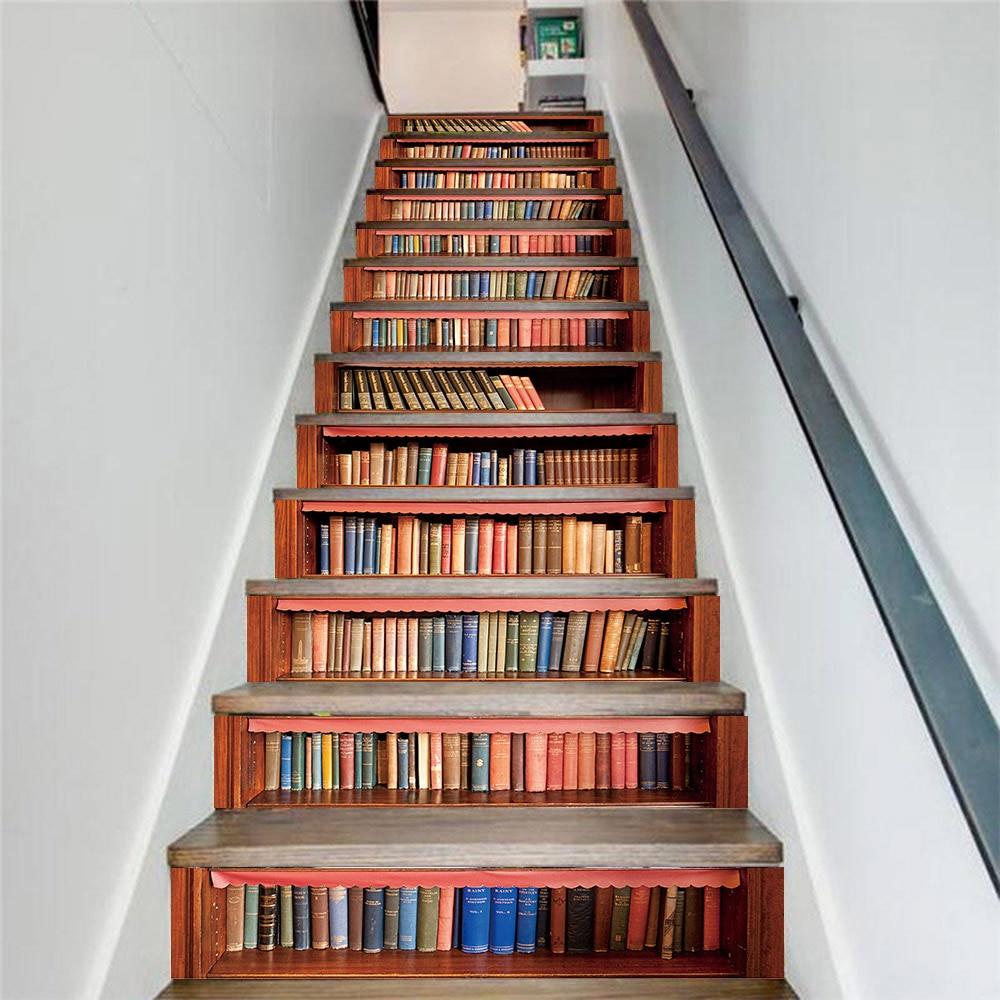"""Đây là mẫu cầu thang thiết kế riêng cho dân """"mọt sách"""""""
