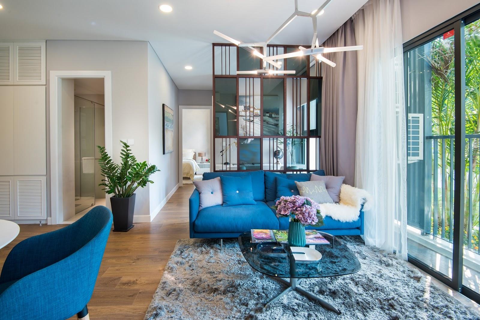 Bạn nên chọn phong cách trang trí nội thất có sắc xanh như thế này để nuôi dưỡng sinh khí