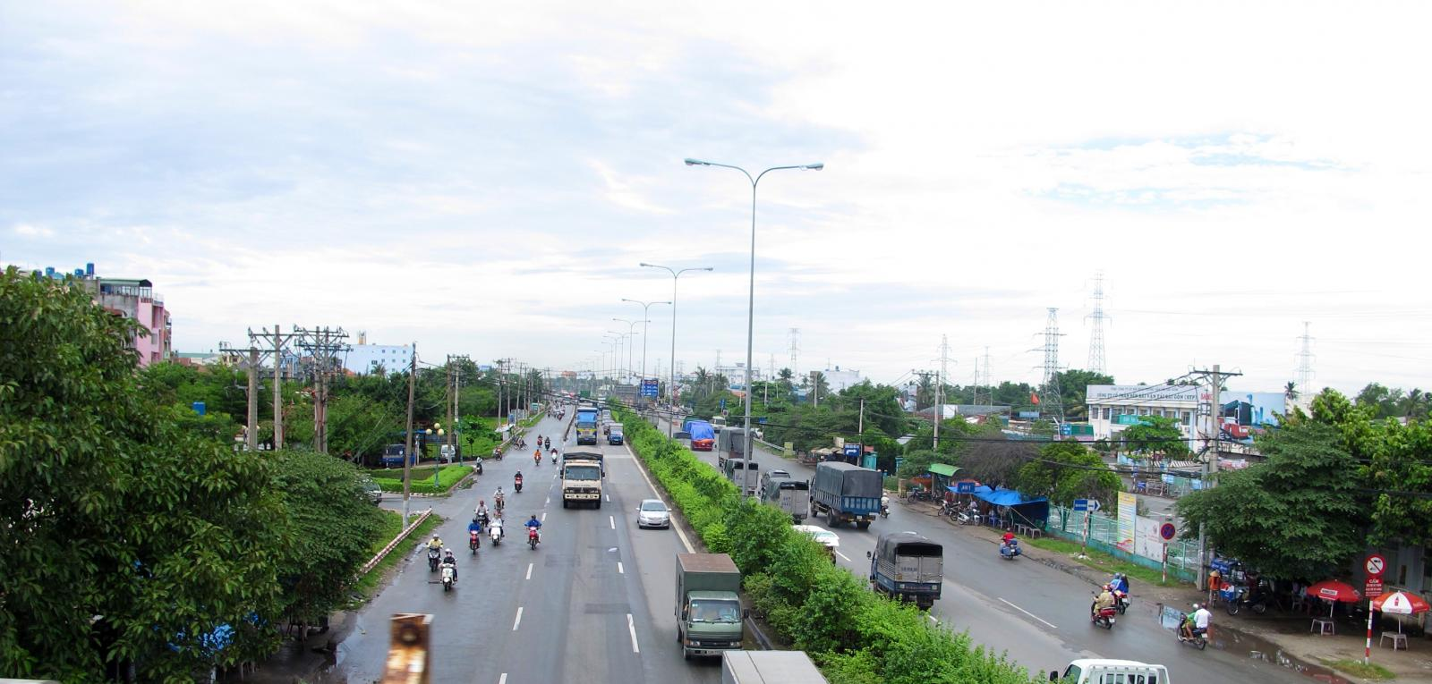 kết cấu hạ tầng phường Thạnh Xuân phát triển