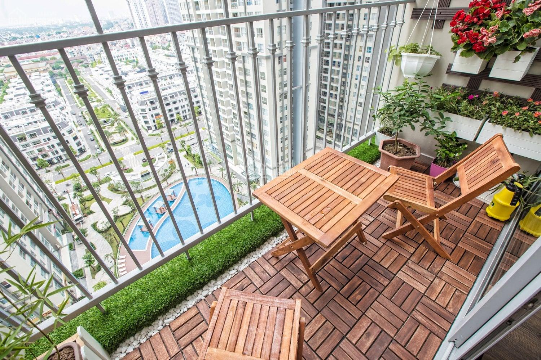 Cần bán căn Duplex 3PN - 2WC tầng trung full đồ tại A3 Vinhome Gardenia