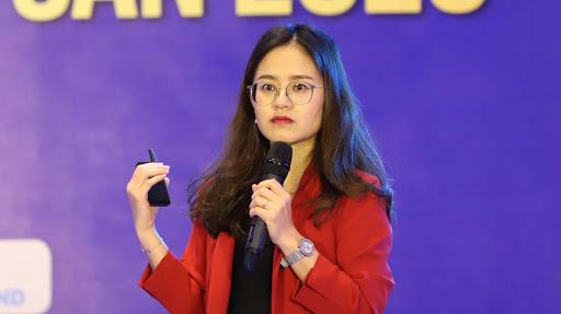Bà Nguyễn Hồng Vân, Giám đốc Thị trường Hà Nội JLL Việt Nam