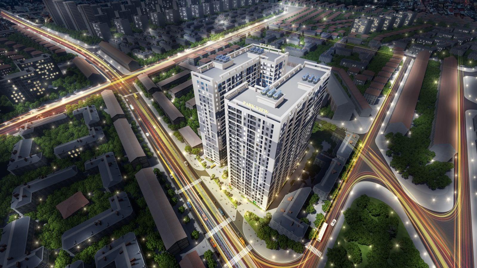 Phối cảnh dự án Parkview Apartment