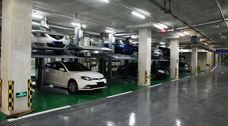 hình ảnh bãi đỗ xe ô tô