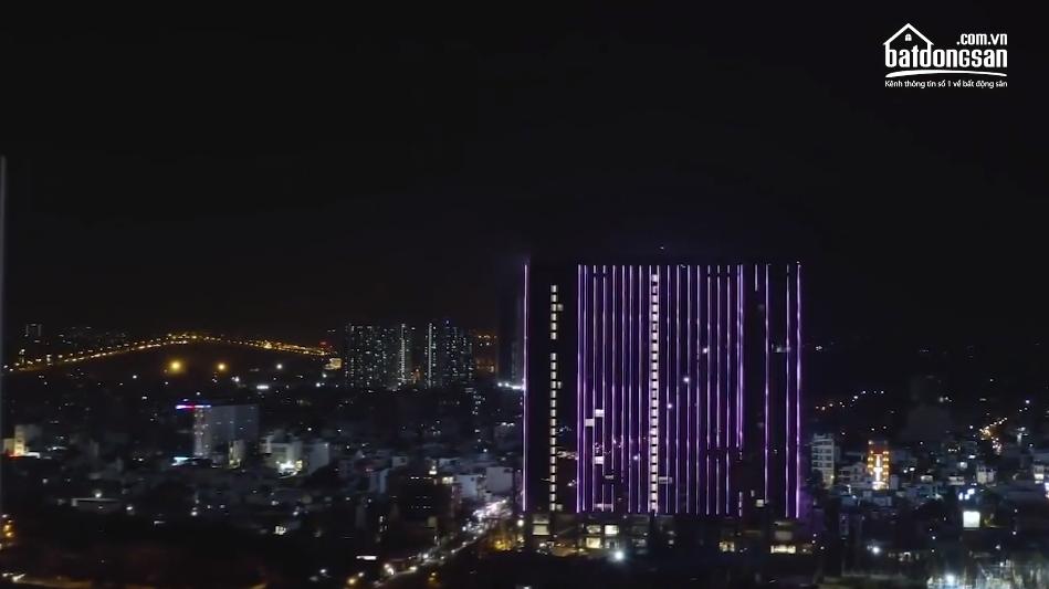 Trình chiếu ánh sáng tại tòa S1 dự án Sunshine City Sài Gòn