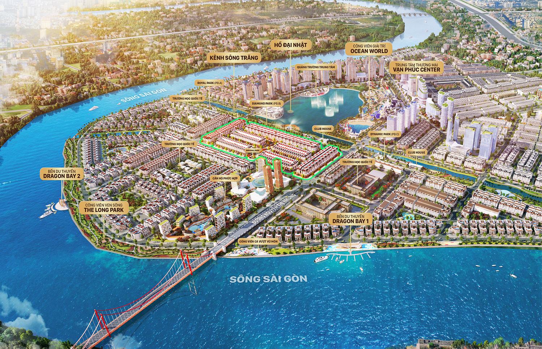 Phối cảnh dự án Sunlake Villas