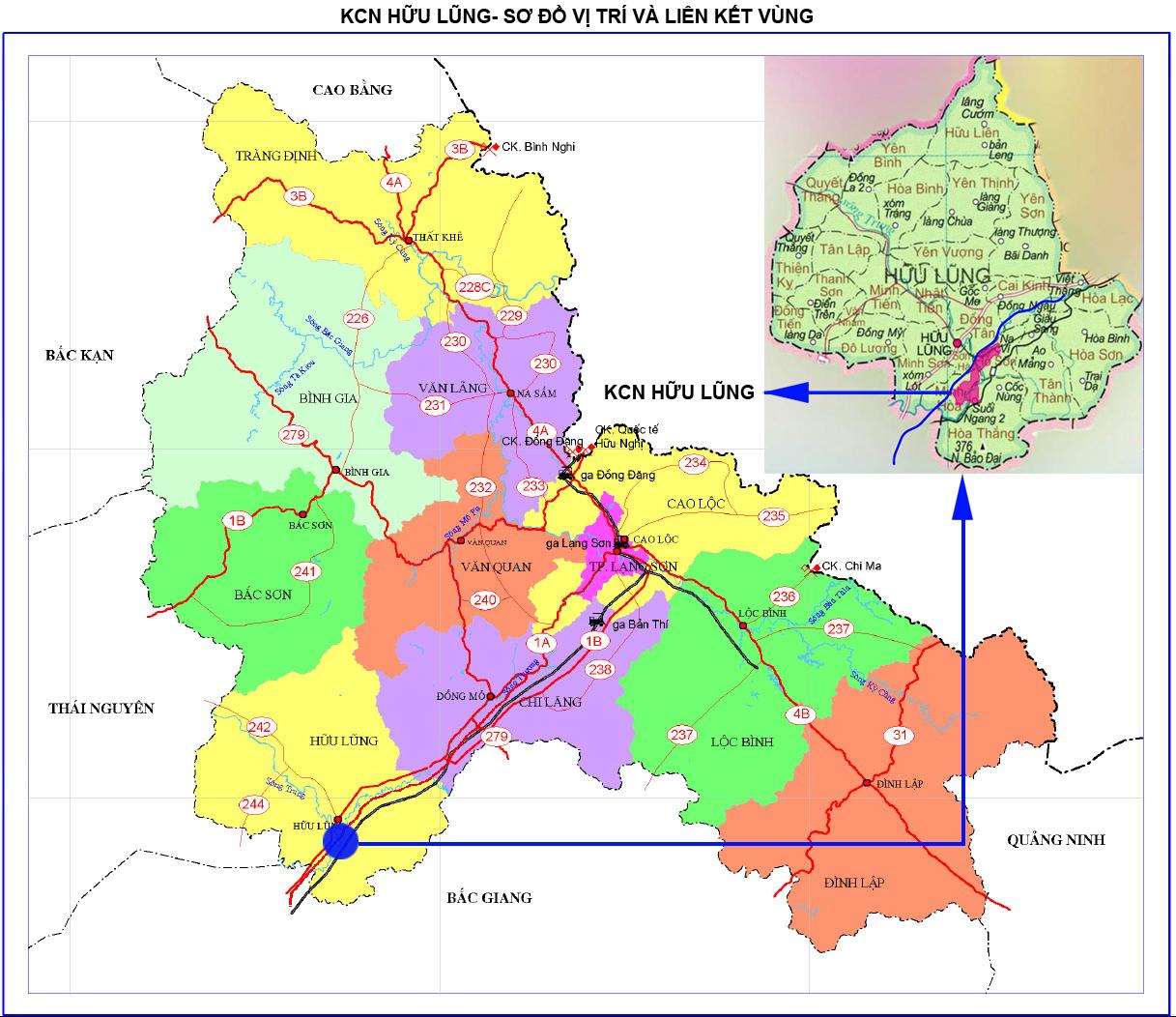 bản đồ liên kết vùng