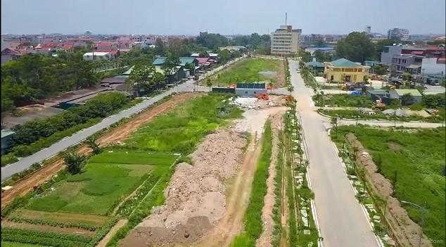 Một dự án đất nền tại Bắc Ninh