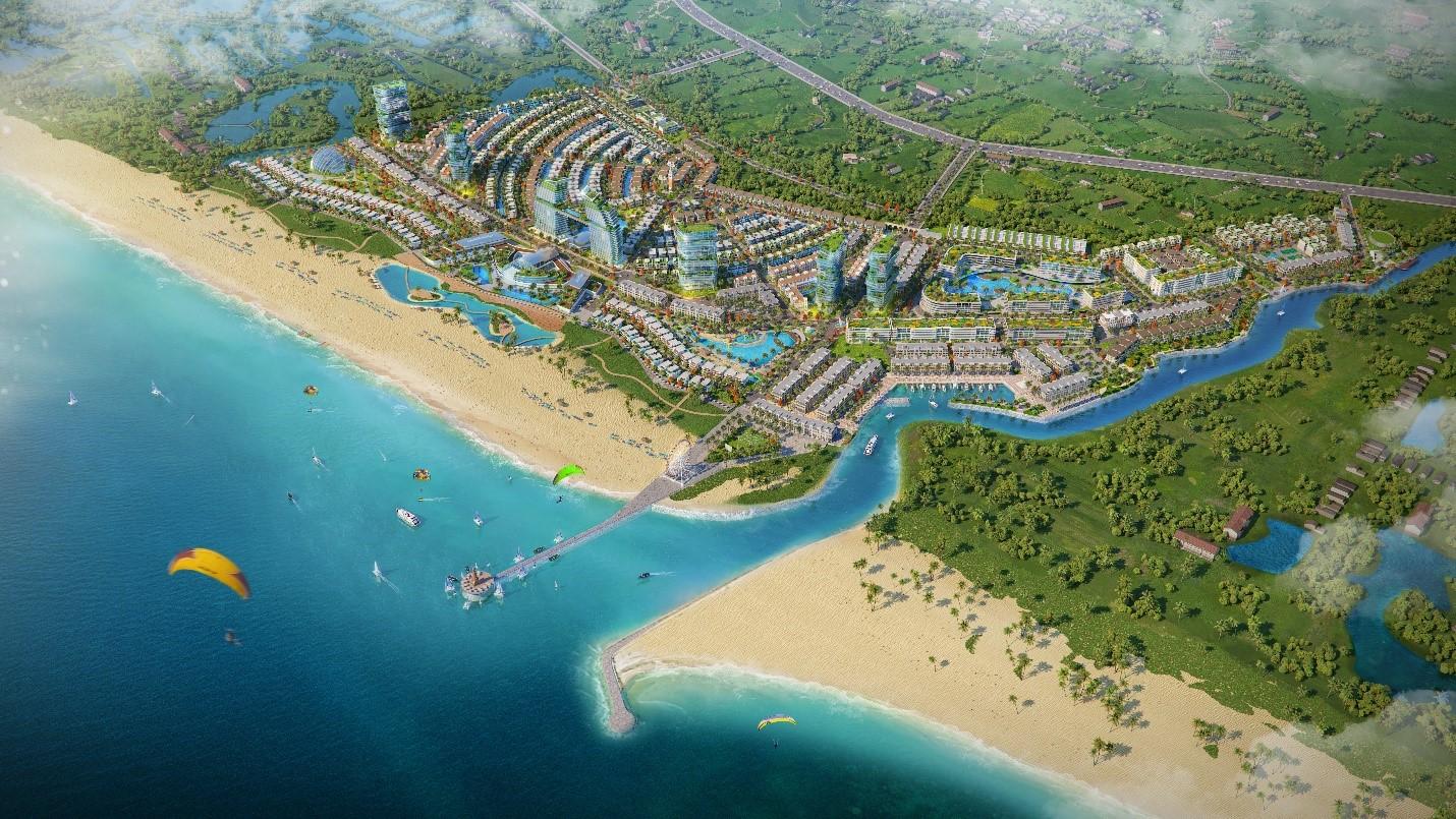dự án nghỉ dưỡng ven biển