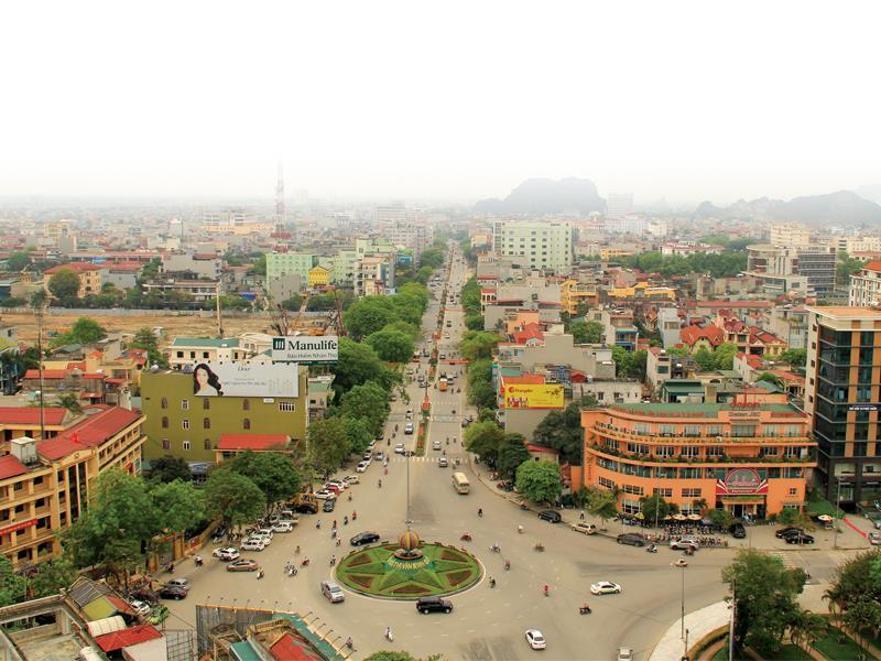 thành phố nhìn từ trên cao