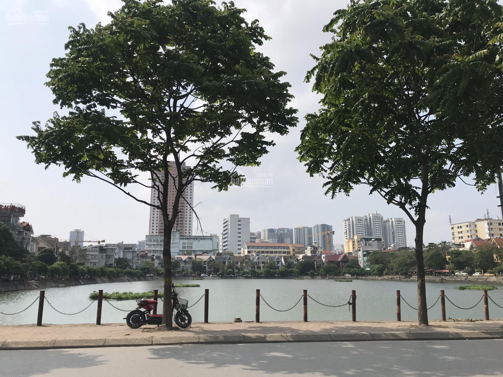 Bán liền kề lô góc mặt đường Nguyễn Khuyến, Văn Quán, vị trí KD, chuẩn 135m2, giá TL 0903491385