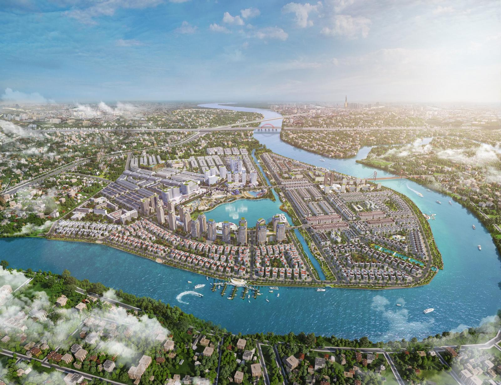 Toàn cảnh dự án Van Phuc City