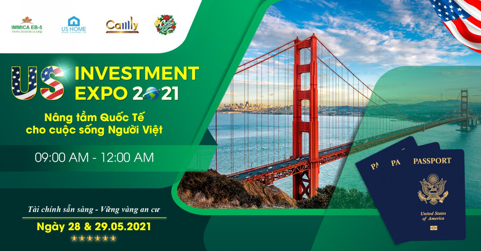 Catalogue sự kiện US Investment Expo 2021