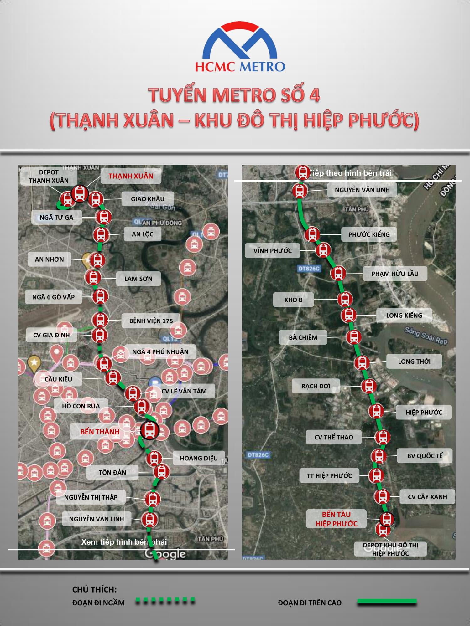 tuyến metro 4