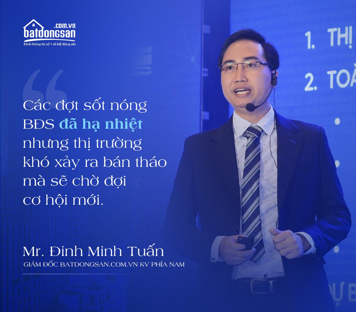 Chân dung ông Đinh Minh Tuấn Giám đốc Batdongsan.com.vn khu vực phía Nam
