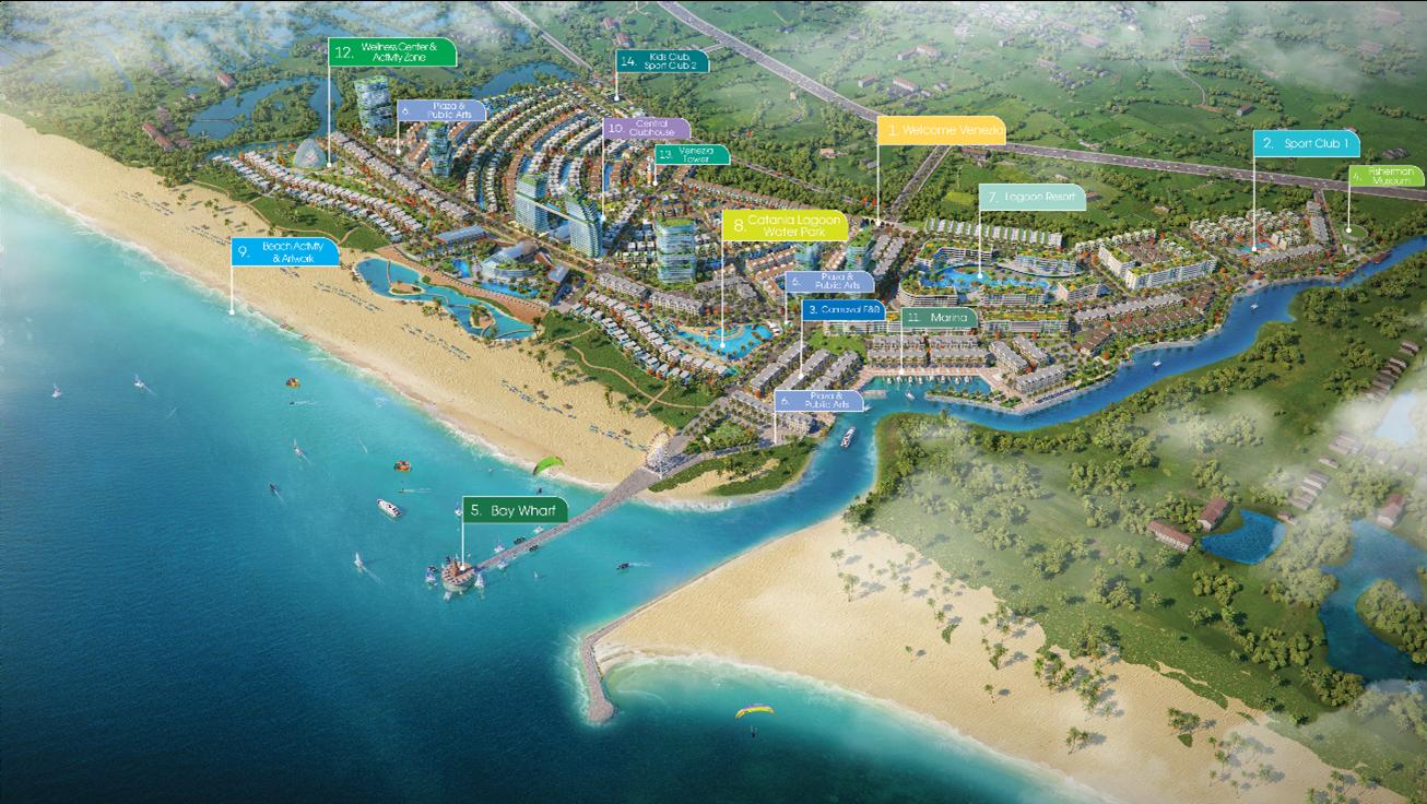dự án ven biển