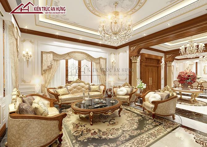 bộ sofa, bàn ghế trong phòng khách
