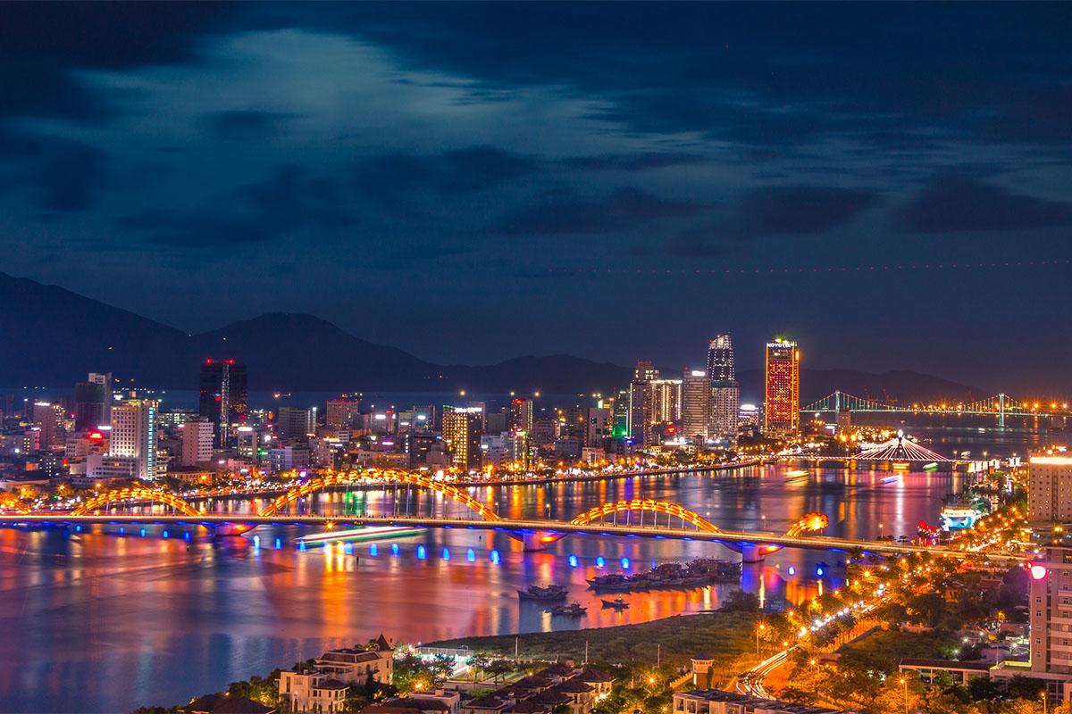 Ảnh Thành phố Đà Nẵng về đêm