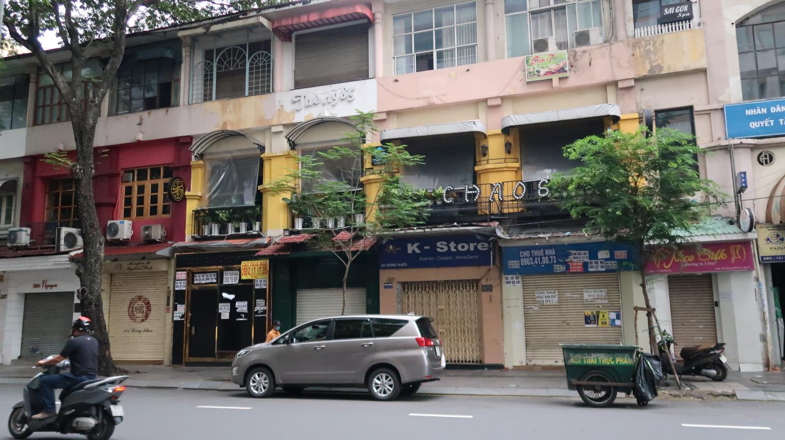 Hình nhà phố cho thuê