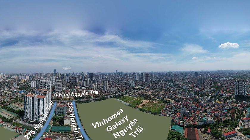 Nhà Hạ Đình quận Thanh Xuân 122m2 5 tầng gara riêng đường vào 6,5m 2 ô tô tránh nhau chỉ 12,5 tỷ 360 ảnh 0
