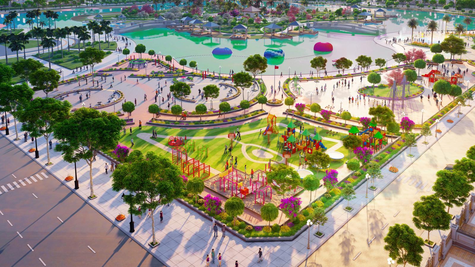 hình ảnh khu đô thị sinh thái