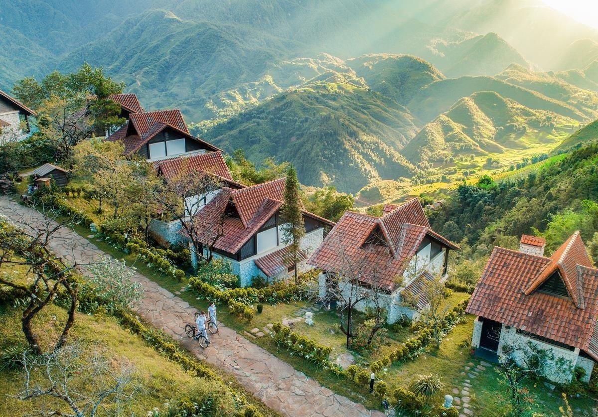 resort trên vùng núi cao
