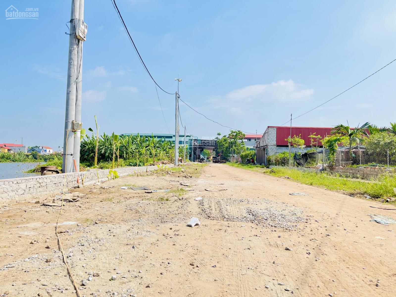 Khu đất nền tại Văn Giang rao bán trên Batdongsan.com.vn