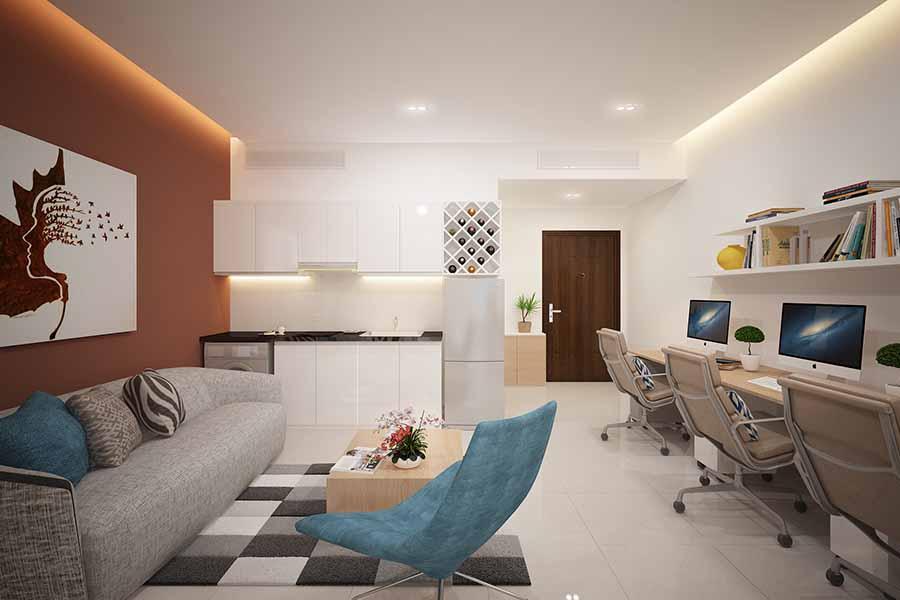 hình ảnh căn hộ soho