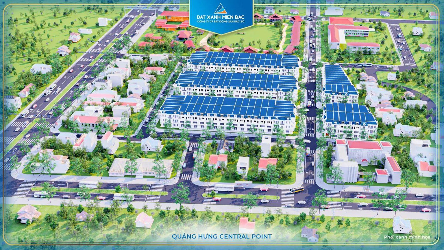 Phối cảnh dự án Quảng Hưng Center Point