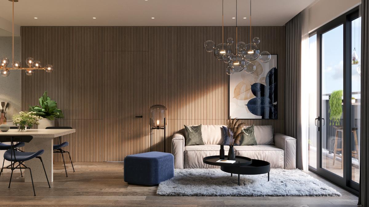 Thiết kế căn hộ BerRiver Jardin