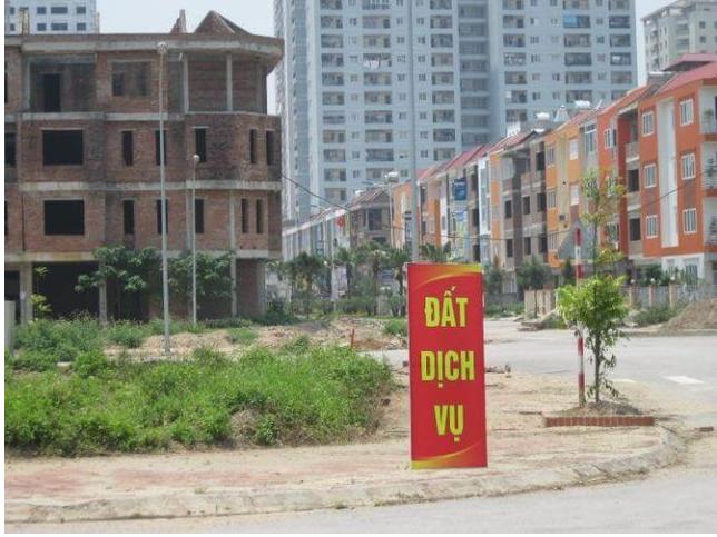 hình ảnh đất dịch vụ Hà Nội