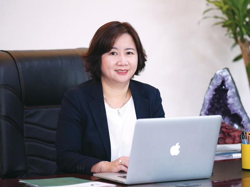 Chân dung bà Hương Nguyễn - Tổng giám đốc Đại Phúc Land