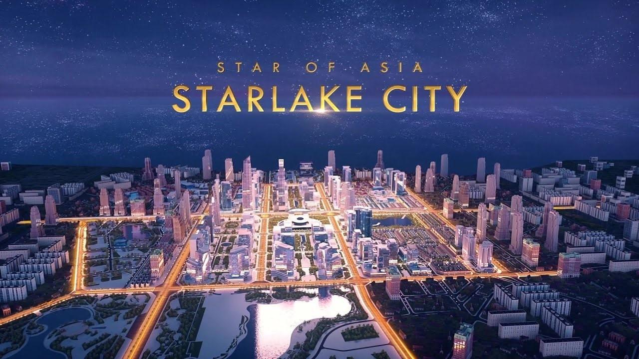 Phối cảnh dự án khu đô thị Starlake