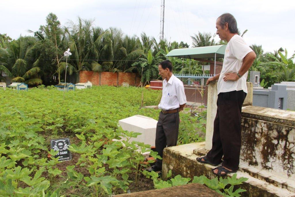 Các khu mộ chôn trên đất nông nghiệp là trái pháp luật