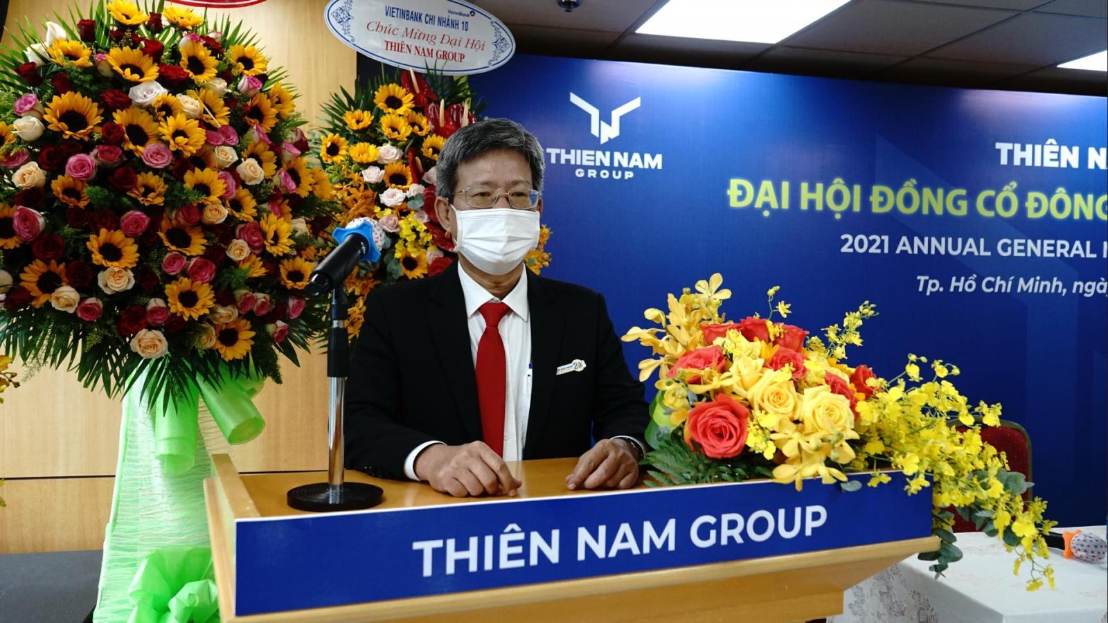 Ông Vương Quang Diệu thành viên Hội đồng Quản trị kiêm Tổng giám đốc Thiên Nam Group