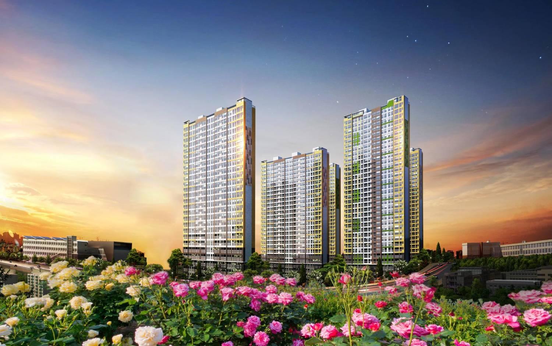 Phối cảnh dự án Rose Garden của Thiên Nam Group