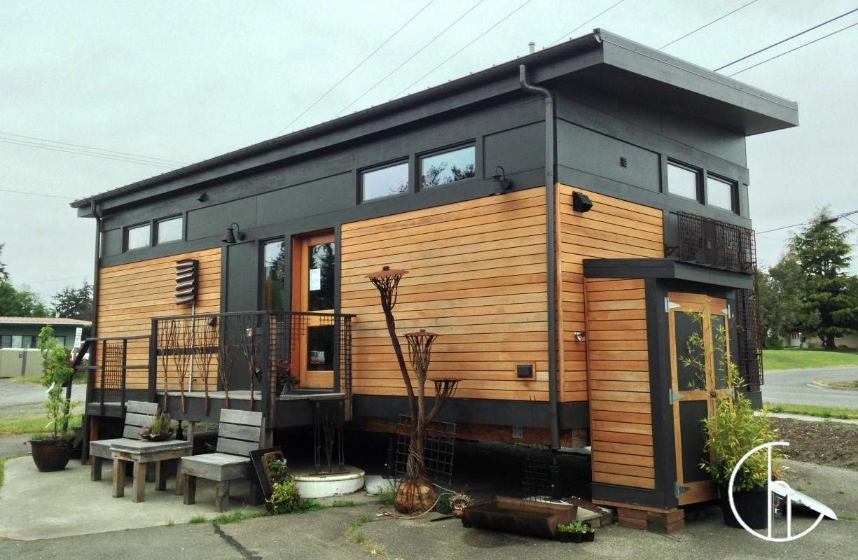 nhà container có thiết kế hiện đại