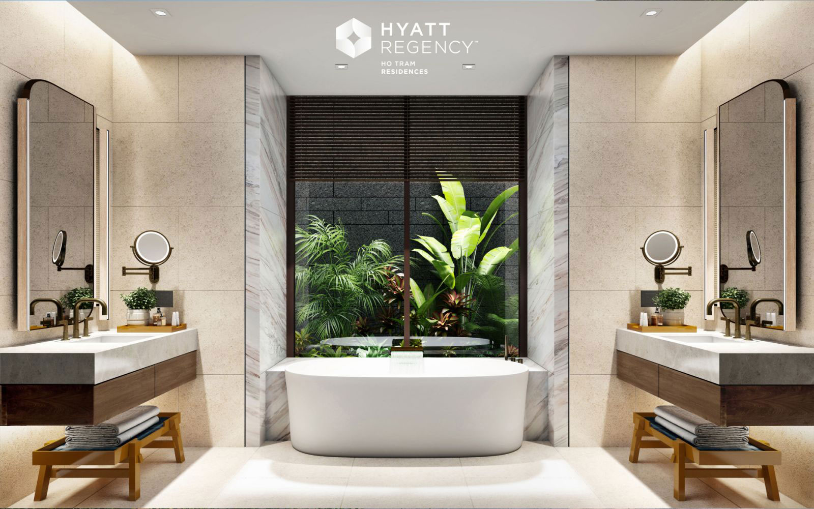 A bathroom with a large tub  Description automatically generated with low confidence