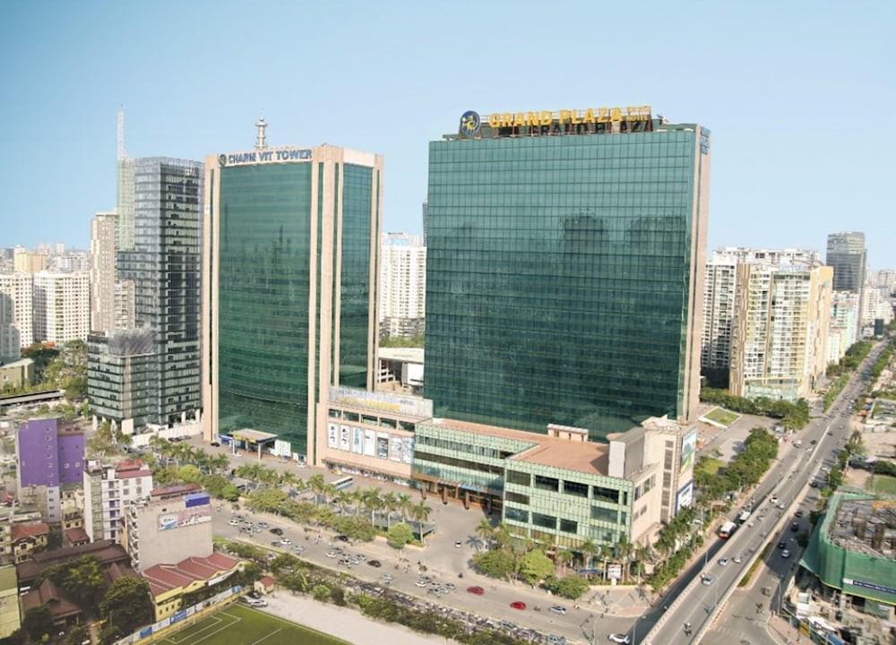 hình ảnh thị trường văn phòng Hà Nội