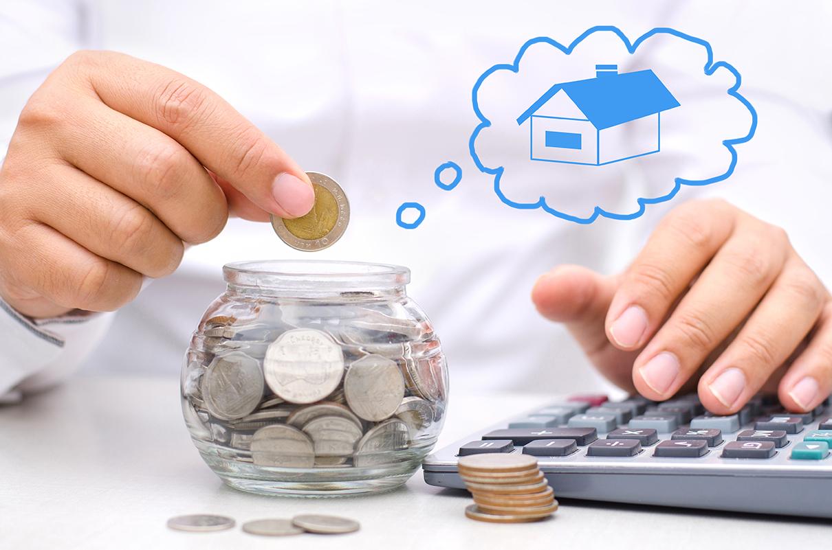 Tiết kiệm tiền mua trả góp nhà