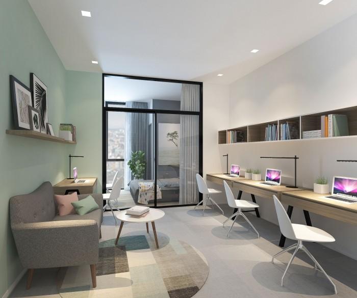 Trong tương lai, căn hộ Soho hứa hẹn mang lại nhiều tiềm năng phát triển