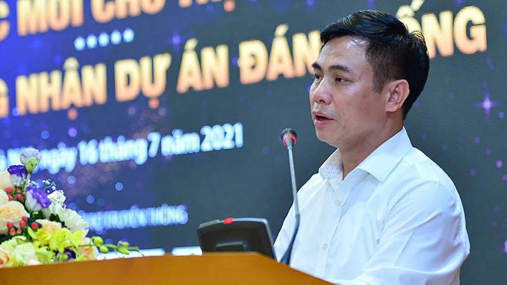 hình ảnh ông Nguyễn Mạnh Khởi, Phó Cục trưởng Cục Quản lý nhà và thị trường bất động sản