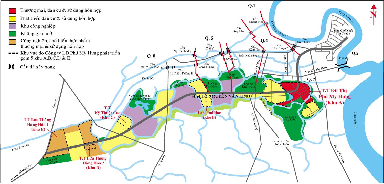 Vị trí của Phú Mỹ Hưng | ảnh 1