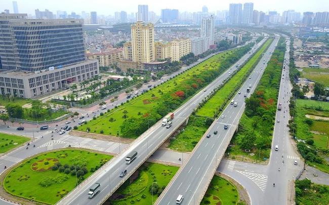 Trục đường phía Tây Hà Nội