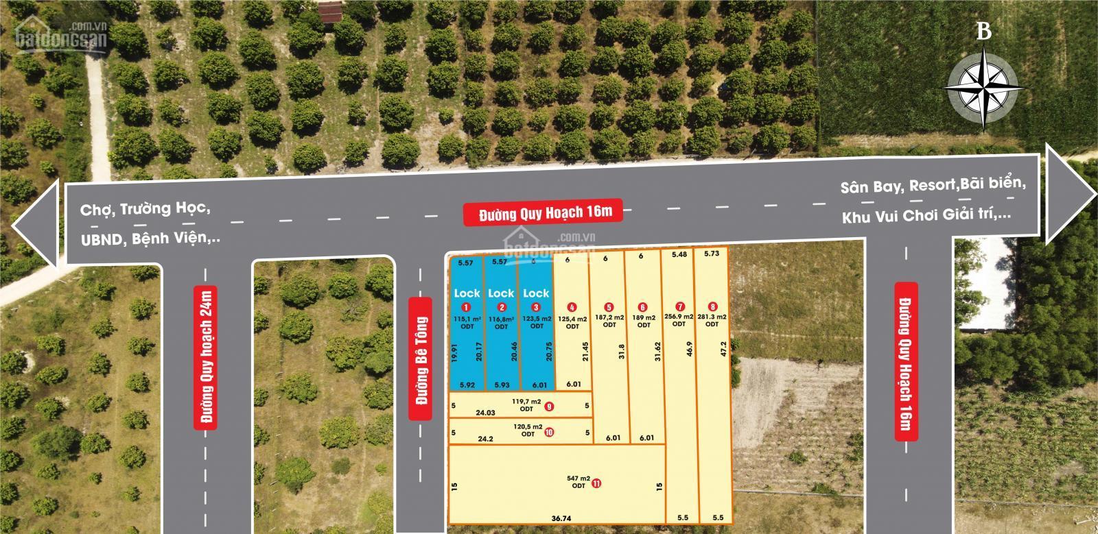 Lô đất ở đô thị - Nghĩa Phú, Cam Nghĩa, Cam Ranh giá đầu tư chỉ từ 5,5tr/m2 - LH 0396469933