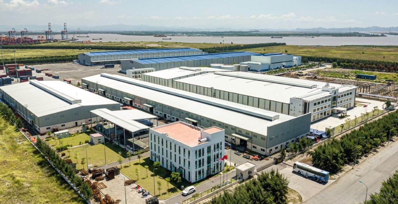 Bất động sản khu công nghiệp với các kho xưởng