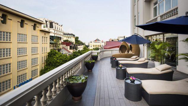 hình ảnh khách sạn Hà Nội