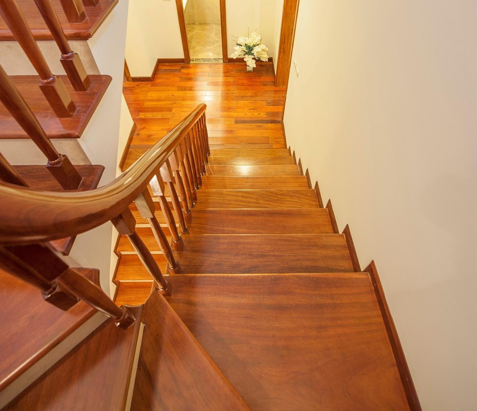 Độ rộng của mặt bậc thang không cần quá lớn