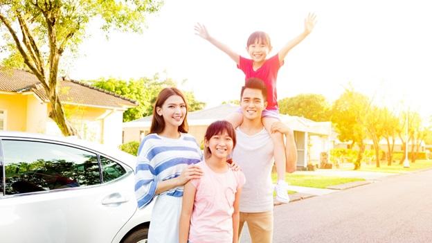 hình ảnh khu đô thị Happy Home Cà Mau