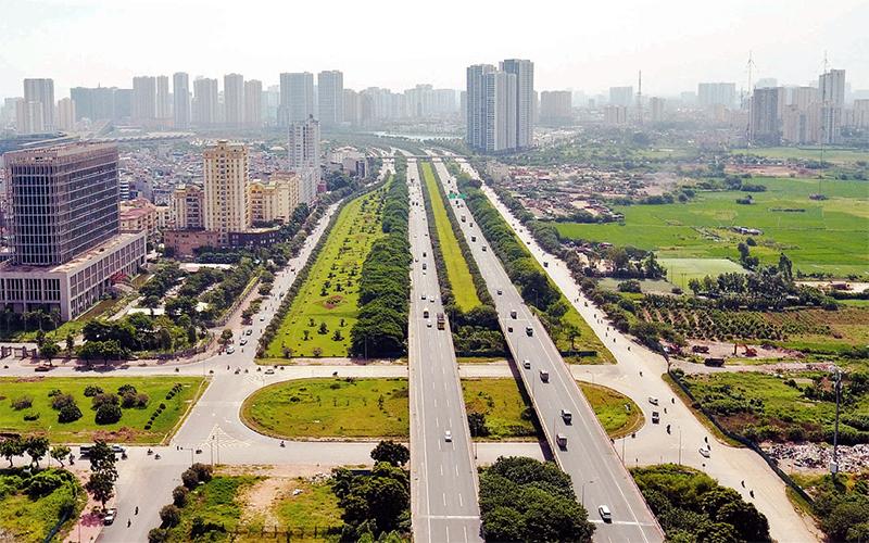 hình ảnh hạ tầng giao thông Hà Nội